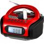 Radio Fm/mp3 Player Boombox C/controle Remoto Bivolt