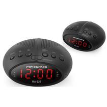 Rádio Relógio Powerpack Ra-225 - Digital - Fm - Bi-volts