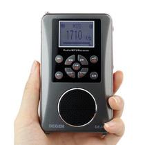 Rádio Gravador Degen De28 Am Fm Sw Ondas Curtas Mp3 Bolso