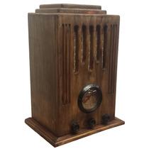 Rádio Antigo Capelão Imbuía - Artesanal - Vintage - Retrô