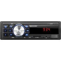 Auto Rádio Multilaser One P3213-entrada Auxiliar/usb/sd Card