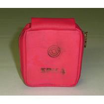 Capa Rádio Spica St-711 Vermelha Pequena Ótima !!! Raridade