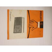 Folheto Radio Companheiro Philips