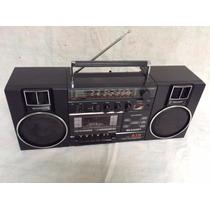 ***** Rádiogravador Boombox Sharp - Funciona Tudo - 80´s