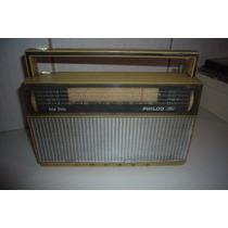 Antigo Rádio Philco Transistone Bege P/ Reparo / Peças