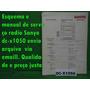 Raro Esquema Sanyo Dc-x1050 Dcx1050 Em Pdf Via Email 10,00