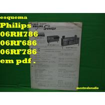 Esquema Philips 06rh786 06rf686 06rf786 Rh786 Rf686 Rf786