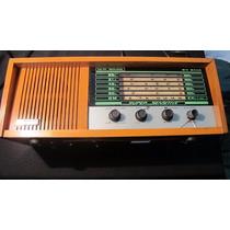 Radio Nissei De Madeira Antigo