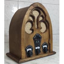 Rádio Antigo Capelinha - Artesanal - Vintage - Retrô