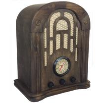 Rádio Antigo Nelrádio Imbuía- Artesanal - Vintage - Retrô
