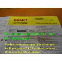 Raro Esquema Bosch Ab-243 Ab243 10,00 Em Pdf