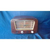 Rádio Capelinha Semp Pt 76 De Madeira Antigo