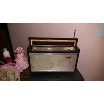 Rádio Philco Transglobe All Transistor Com Manual Bonito Lei
