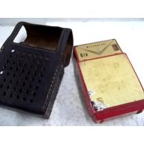 Antigo Rádio Mitsubishi 6 Transistor Portátil Não Funciona
