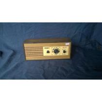 Rádio Nissan 3 Faixas Bivolt De Madeira Antigo Funcionando
