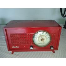 (only Wood) Radio Antigo A Valvula Da Marca Standard