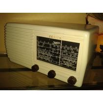Relíquia: Rádio Americano Zenith Model 5s619bt- Chicago/1946