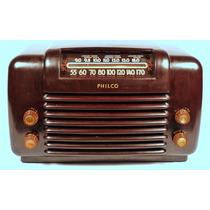 Rádio Philco Om / Oc Modelo 48-464 De 1948 Leia A Descrição