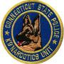 Patch Bordado K9 Narcotics Unit - Pl60344