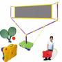 Jogo De Tênis Infantil Para Crianças Raquete Rede Bola