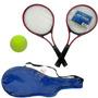 Raquete De Tenis + Bola Jogo Esporte Quadra Escola Time Laze