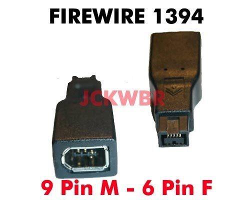 Raro Adaptador Firewire 800 P/ 400 9 Pinos P/ 6 Pinos Mac Pc