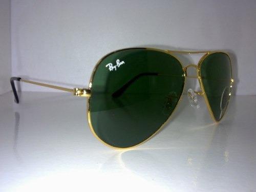 rb3025 g15  ray-ban-3025 -lente-verde-armaco-douradamodelo-aviador-14273-MLB3782497207_022013-O.jpg