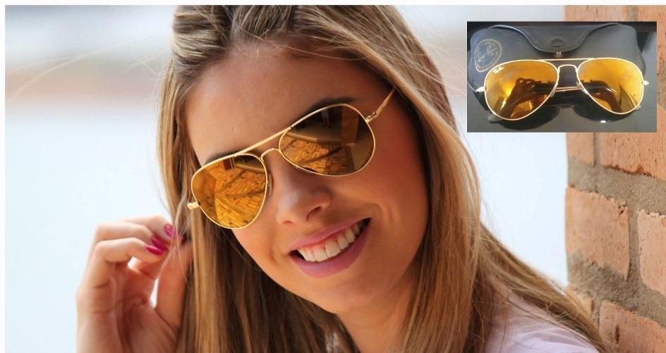 Oculos Ray Ban 3026 Dourado   Louisiana Bucket Brigade 72e8828686