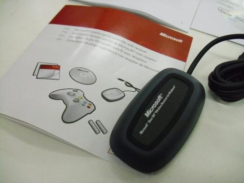 Receiver Receptor P/ Controle Wireless Xbox 360 P/ Jogar Pc