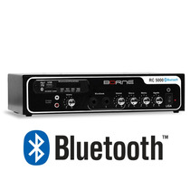 Receiver Amplificador P Som Ambiente Rc5000 Bluetooth Fm Usb