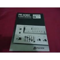 Manual Receiver Polyvox Pr4080 - Cópia Encadernada