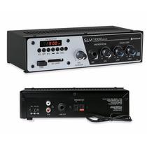 Receiver Amplificador Slim Frahm 1000 Plus Usb Frete Grátis