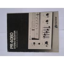 Manual Original Receiver Polyvox Pr 4080