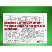 Esquema Receiver Cce Sr6000 Sr 6000 Em Pdf Via Email