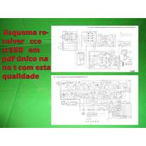 Esquema Receiver Cce Sr350 Sr 350 Em Pdf