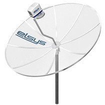 Antena Parabólica Elsys 1,50cm - Kit Completo, Banda C