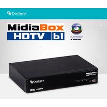 Receptor Century Midiabox Hdtv B1 - Sat Hd Regional - Rpc Tv
