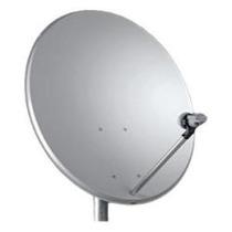 Kit Duas Antena Miniparabólica Ku 60cm+dois Lnb Duplo+ Cabos