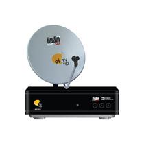 Kit Oi Tv Livre Lnb Quadruplo Antena De 75cm