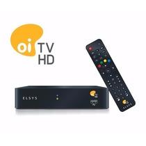 Kit Oi Tv Livre Hd Com Antena 60cm E Lnbf Multiponto+brinde