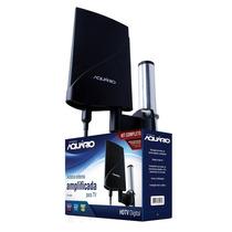 Antena Externa Amplificada Para Tv 4 Em 1 Dtv-5600 - Aquário