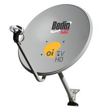 Kit Oi Tv 6 Antenas Ku 60cm + 6 Lnb Simples Original