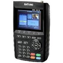 Localizador De Satélite Satlink Ws-6916 Dvb-s2 Hd - Ses 6