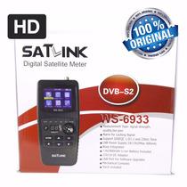 Satlink Ws-6933 Dvb-s2 Localizador Satélite - Frete Grátis