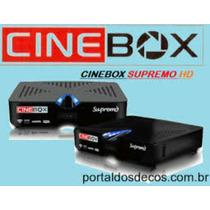 Cine Box Receptor De Antena Por Satélite