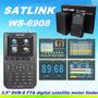 Localizador De Satélite Antena Satlink Ws6908 Finder