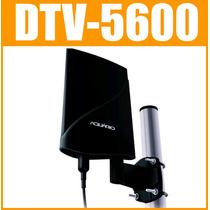 Antena Digital Externa Amplifica Aquário Dtv-5600 4 Em1 Hdtv