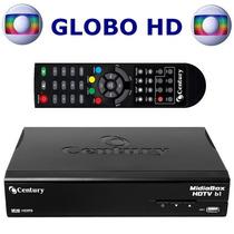 Receptor Midiabox Century Hdtv B1 Sat Hd Com A Globo Hd.