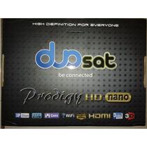 Duo-sat Pro-digy Hd Nano Full Hd+hdmi/wi-fi/3d/frete Grátis