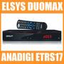 Receptor Analógico E Digital Elsys Etrs17 Duomax Banda C/ku